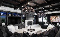 black and white modern living rooms Best of: Black and White Modern Living Rooms Best of Black and White Modern Living Rooms 8 240x150