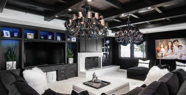 black and white modern living rooms Best of: Black and White Modern Living Rooms Best of Black and White Modern Living Rooms 8 370x190