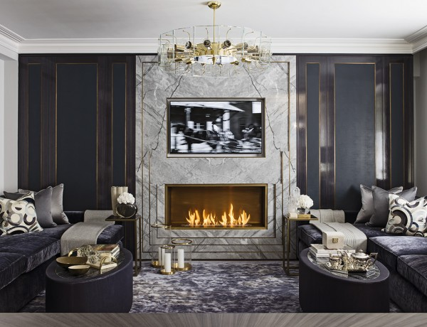 katharine pooley Katharine Pooley – 10 Luxury Living Room Decoration Inspiration 02 Hyde Park project by katherine pooley 600x460