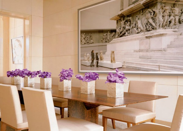 how to use brown color for your dining room design How to Use Brown Color For Your Dining Room Design Brown Color Design For your Dining Room Decoration 11 600x430