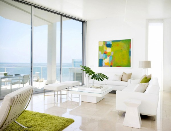 interior designers living room Outstading Interior Designers Living Room Decoration modern living room small space ultramodern small modern living room with white interior and green accent design 600x460