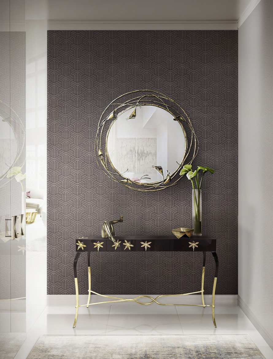 Living Room Decor Ideas: 25 Stunning Wall Mirrors Décor Ideas For Your Home