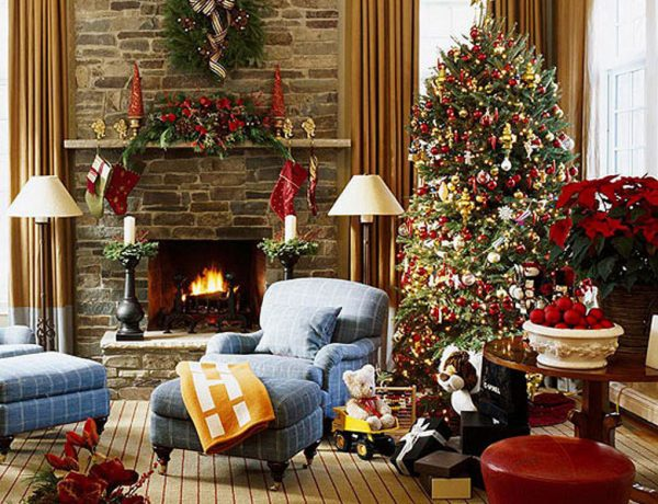 living rooms decor ideas for christmas Get Inspired With These Amazing Living Rooms Decor Ideas for Christmas Get Inspired With These Amazing Living Rooms Decor Ideas for Christmas3 600x460