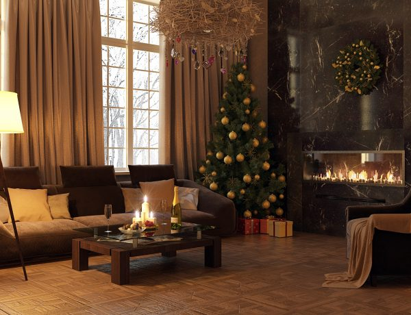 Christmas decor Gorgeous Living Rooms to Get Inspired for your Christmas Decor Gorgeous Living Rooms to Get Inspired for your Christmas Decor7 600x460