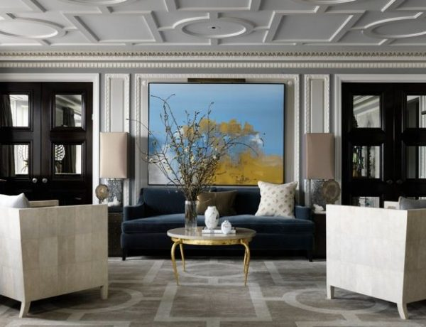 summer colors Get Inspired with These Summer Colors for your Home Amazing French Style Apartment designed by Jean Louis Deniot 600x460