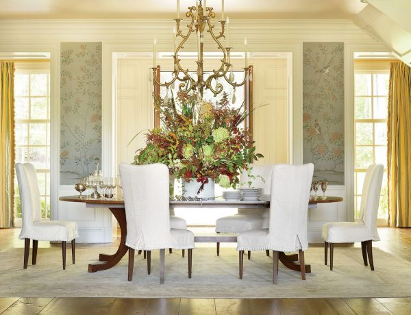 dining room decor by ad100 designers Amazing Dining Room Decor by AD100 Designers Amazing Dining Room Decor by AD100 Designers9 600x460
