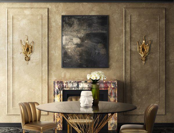 trendy dining room ideas 8 Trendy Dining Room Ideas for this Summer kk floor lamps 600x460