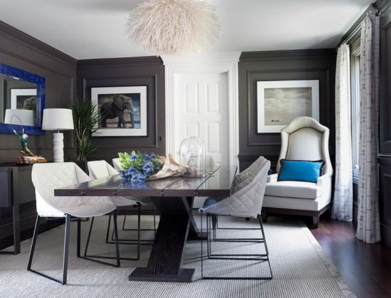2019 Colour Trends for a Modern Dining Room 2019 colour trends 2019 Colour Trends for a Modern Dining Room 2019 Dining Room Design Color Trends 6