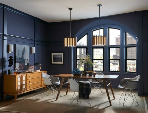 2019 colour trends 2019 Colour Trends for a Modern Dining Room 2019 Dining Room Design Color Trends 9 600x460