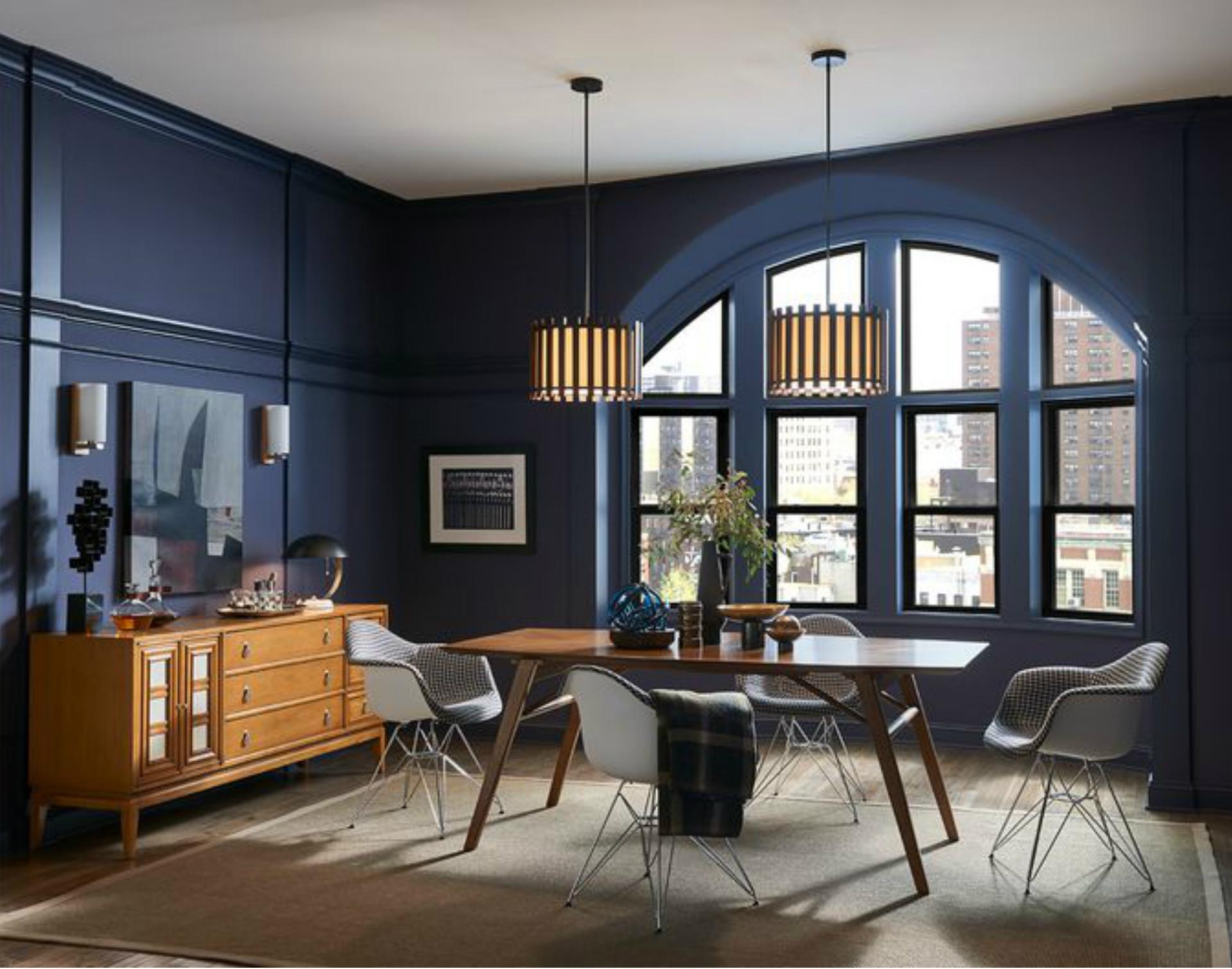 Modern dining room design 2019 color trends - Home design trends 2019 ...