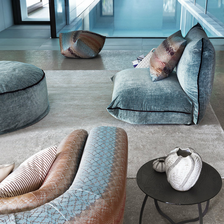 2019 Interior Design Trends to Turn a Space in a Sensorial Experience 2019 interior design trends 2019 Interior Design Trends to Turn a Space in a Sensorial Experience Tbilisi Cushion by Missoni Home