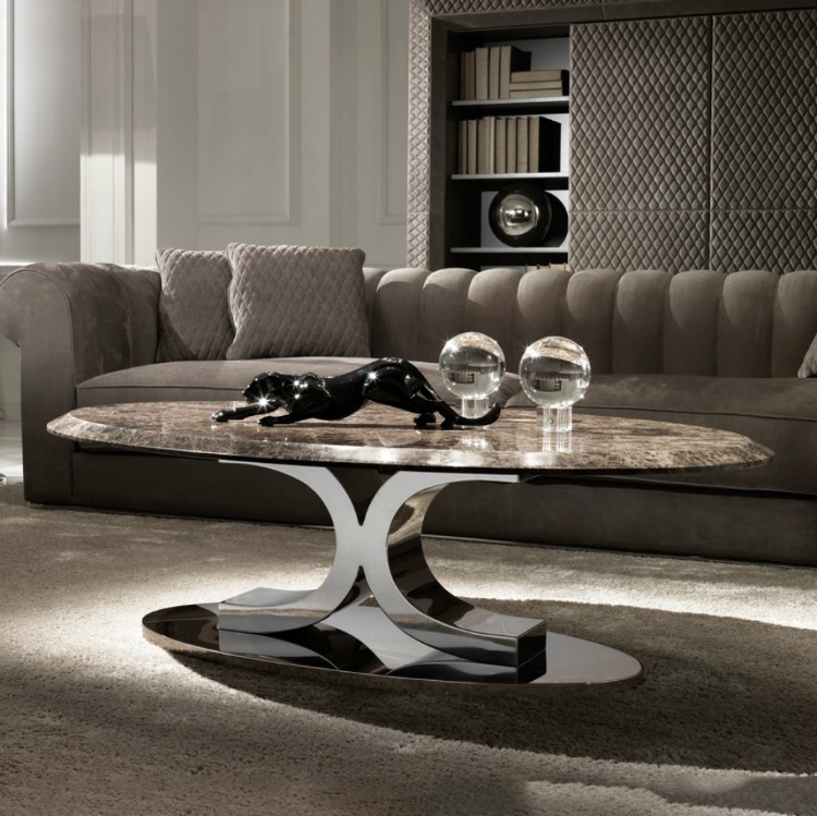 2019 Interior Design Trends to Turn a Space in a Sensorial Experience 2019 interior design trends 2019 Interior Design Trends to Turn a Space in a Sensorial Experience luxury coffee tables 3 marble table 1 pictures contemporary italian oval 1028x1026