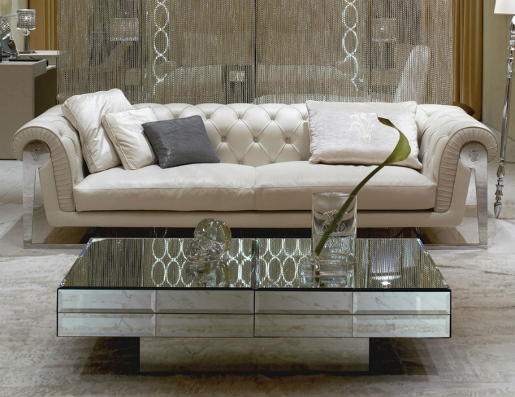 2019 Interior Design Trends to Turn a Space in a Sensorial Experience 2019 interior design trends 2019 Interior Design Trends to Turn a Space in a Sensorial Experience mirrored coffee table and end tables mirrored coffee tables for sale