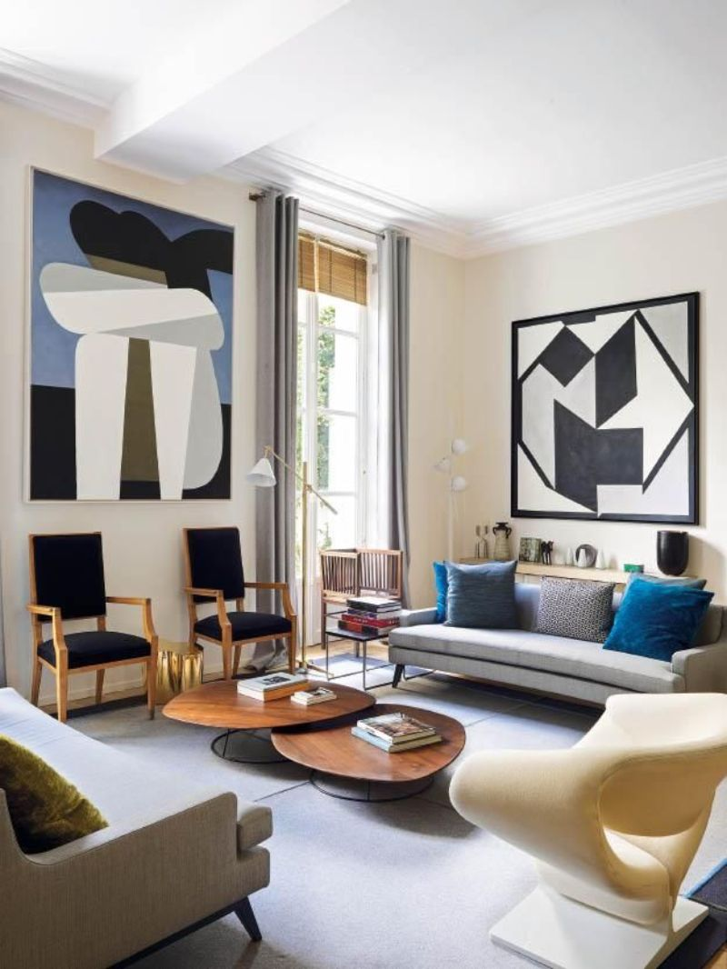 didier gomez, design  didier gomez Didier Gomez: The Art Of Design Didier Gomez Creates A Perfect Harmony Inside This Parisian Apartment 4