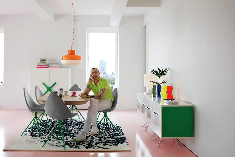 karim rashid, design karim rashid Karim Rashid: There's Only Endless Love. OC M WHITE GREEN KARIM 1 A4 e1373960155500
