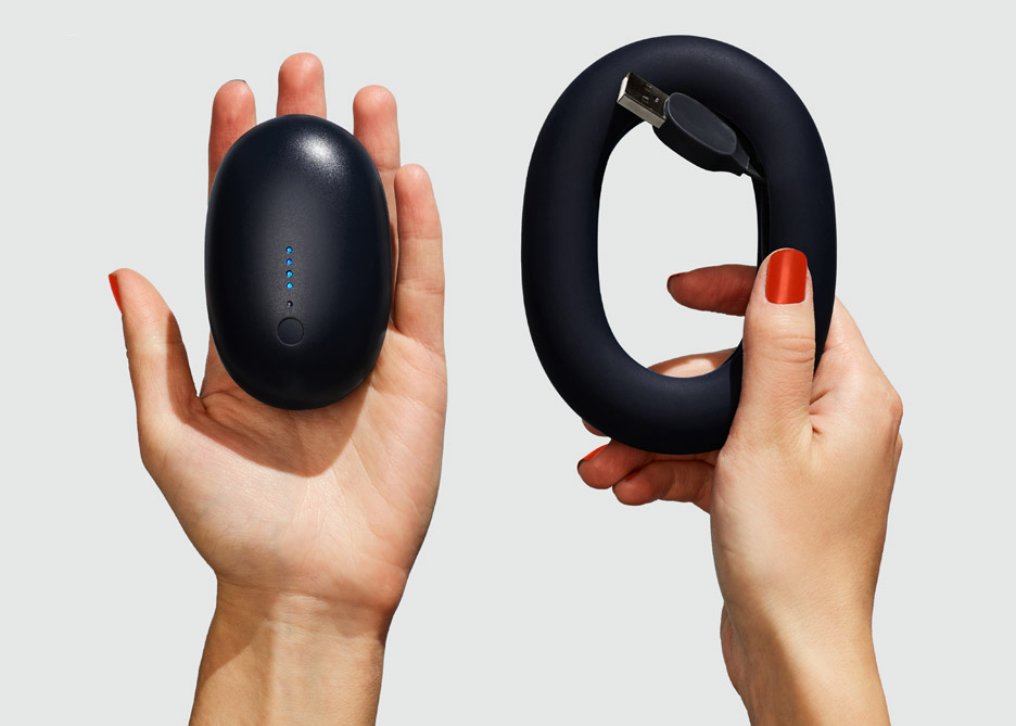 karim rashid, design karim rashid Karim Rashid: There's Only Endless Love. bump karim rashid product design portable charger push shove dezeen 936 9