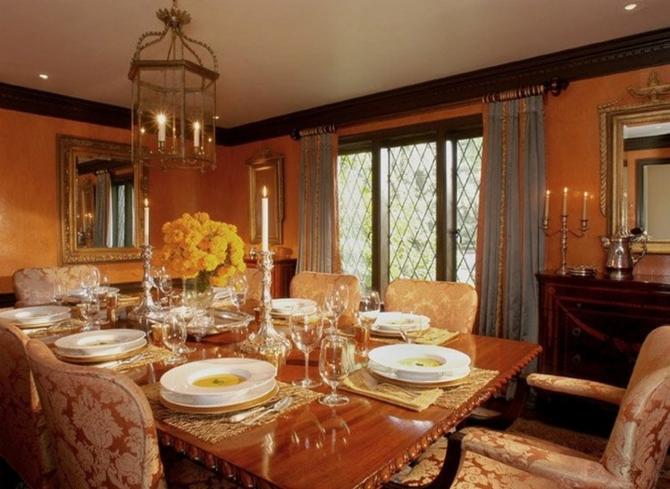 Draw Inspiration From These Amazing Dining Rooms by Timothy Corrigan