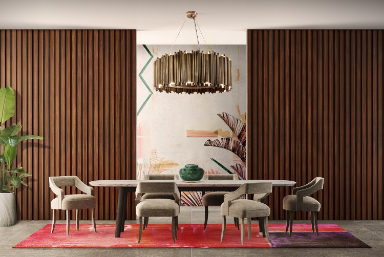 The Perfect Matches Of Furniture For Your Dining and Living Room