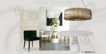 clean Clean and Neutral Dining Room Inspired by Kelly Hoppen kelly hoppen 2 370x190
