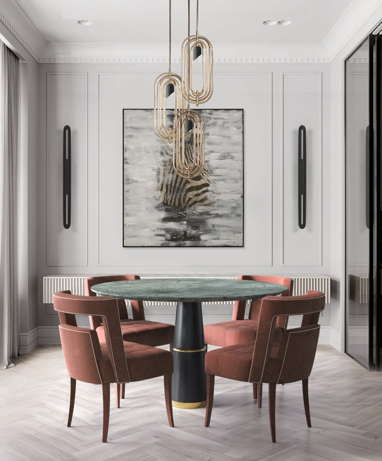modern interiors Modern Interiors Trends for the Dining and Living Rooms Modern Interiors Trends for the Dining and Living Rooms 2