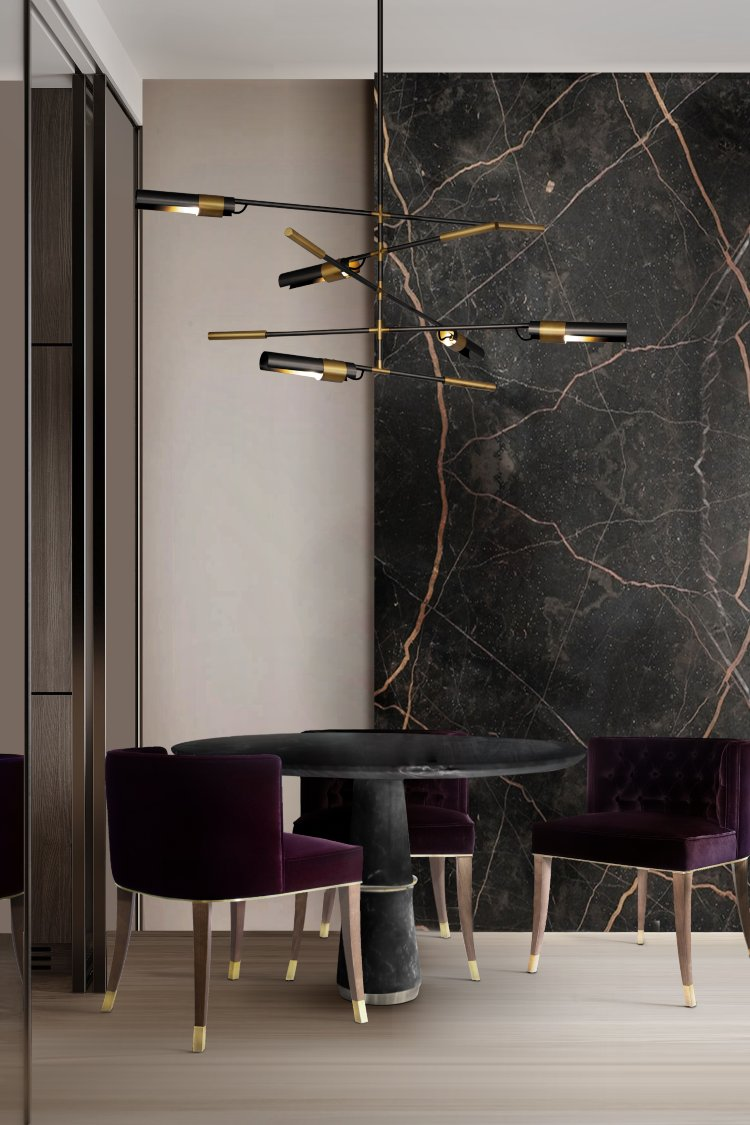 Modern Interiors Trends for the Dining and Living Rooms