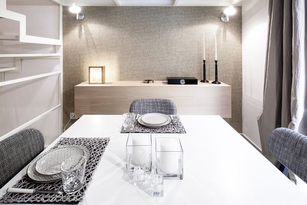 Archiplan Studio, The Beautiful Milazzo Appartamento Project archiplan studio Archiplan Studio, The Beautiful Milazzo Appartamento Project Archiplan Studio The Beautiful Milazzo Appartamento Project  Dining and Living Room Archiplan Studio The Beautiful Milazzo Appartamento Project