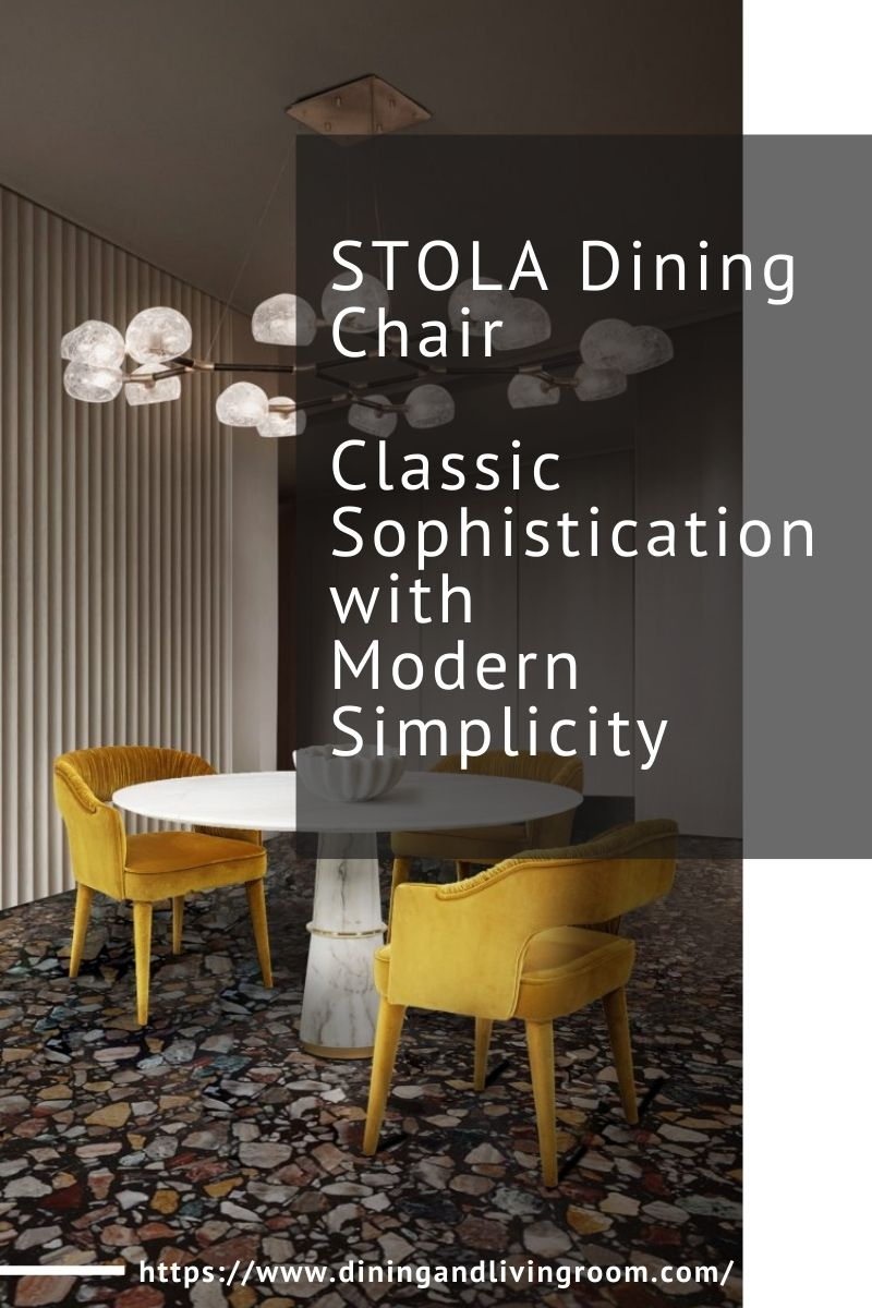 STOLA Dining Chair - Classic Sophistication with Modern Simplicity stola dining chair STOLA Dining Chair – Classic Sophistication with Modern Simplicity STOLA Dining Chair Classic Sophistication with Modern Simplicity 1 1