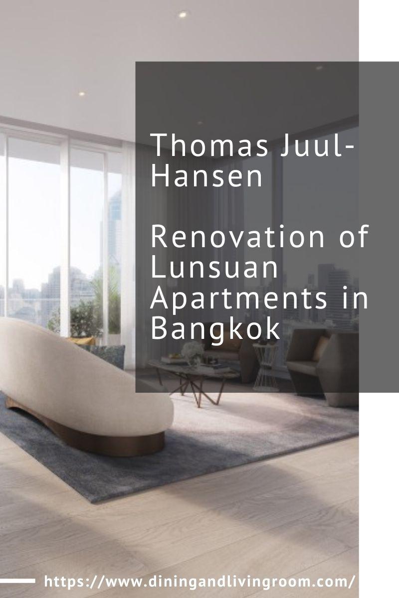 Thomas Juul-Hansen Renovation of Lunsuan Apartments in Bangkok