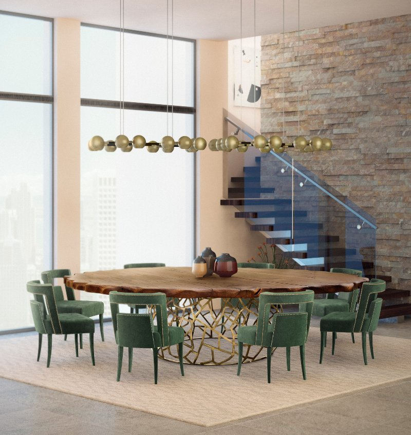 Green Inspirations for Dining and Living Rooms green Green Inspirations for Dining and Living Rooms Green Inspirations for Dining and Living Rooms 2