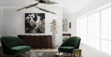 Green Inspirations for Dining and Living Rooms