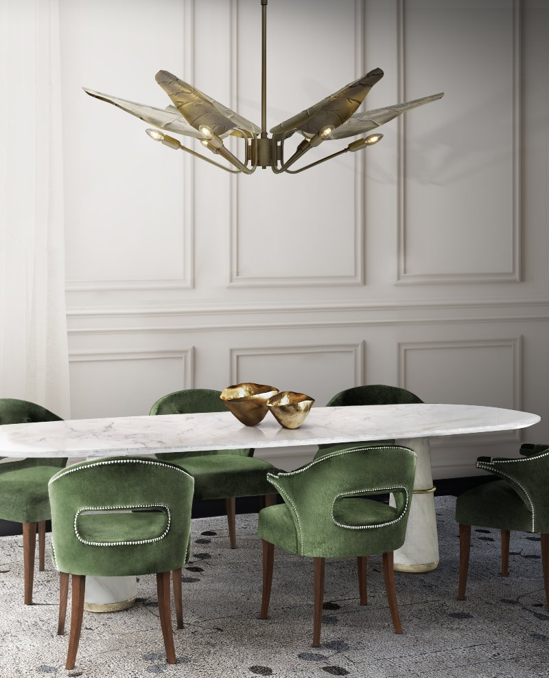 Green Inspirations for Dining and Living Rooms green Green Inspirations for Dining and Living Rooms Green Inspirations for Dining and Living Rooms 8