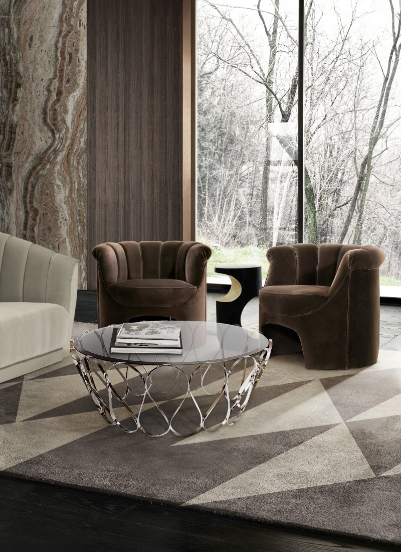 Modern Contemporary Design - Clean, Sleek Dining and Living Rooms