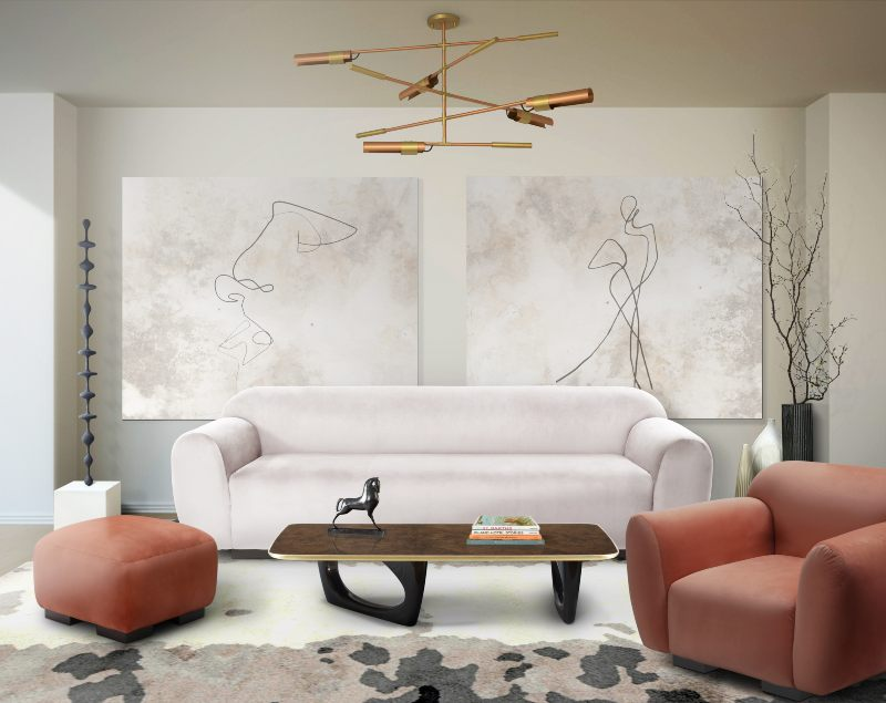 Modern Rug Designs for Dining and Living Rooms