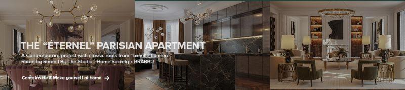 the supernova dining room The Supernova Dining Room – A New Path for Interior Decor the eternal parisian apartment 800