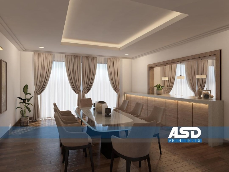 asd architects Modern Dining and Living Room Ideas by ASD Architects 5 ASD Architects