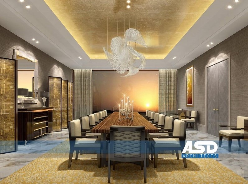 asd architects Modern Dining and Living Room Ideas by ASD Architects 6 ASD Architects