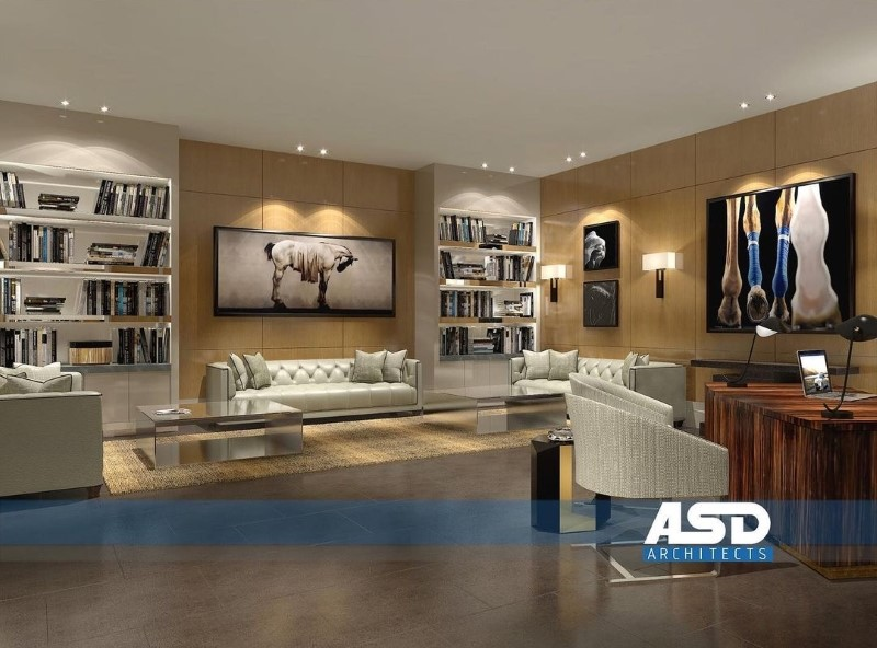 asd architects Modern Dining and Living Room Ideas by ASD Architects 7 ASD Architects