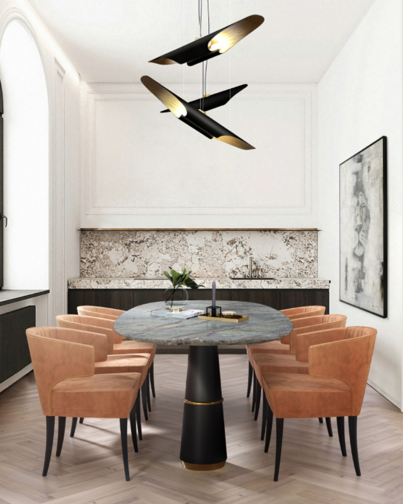 asd architects Modern Dining and Living Room Ideas by ASD Architects ASD Architects 2